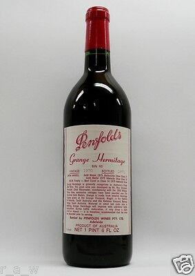 Penfolds Grange Shiraz 1970 Red Wine Clinic