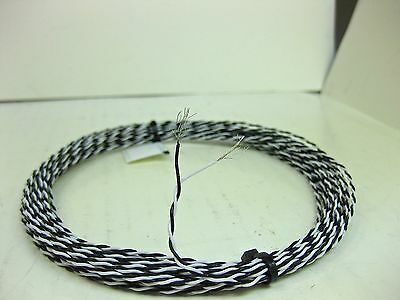 25 feet 28 AWG PTFE Wire stranded tight twisted pair Nickel plated High Temp