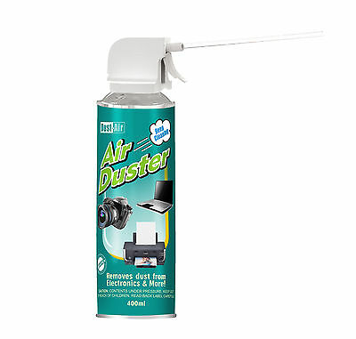 400ml Compressed Air Duster Cleaner Spray Can Canned Laptop Keyboard Mouse