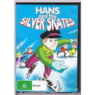 Dvd Hans & The Silver Skates Animated Childrens Region Free Pal New Sealed [Bns]