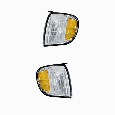 PAIR of Corner Lights - Driver & Passenger Sides - Fits 2000-2004 Toyota Tundra