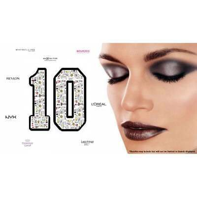 10 x Mixed Branded Make Up Wholesale Bundle