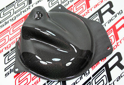 2008 2009 2010 2011 Kawasaki Ninja 250 250R Engine Case Cover Carbon Fiber Fibre