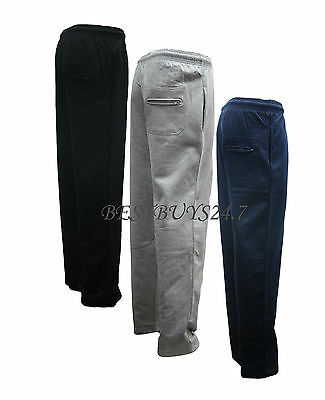 Mens Fleece Jogging Trouser Joggers Tracksuit Bottoms BIG SIZES ~ 2XL to 8XL New