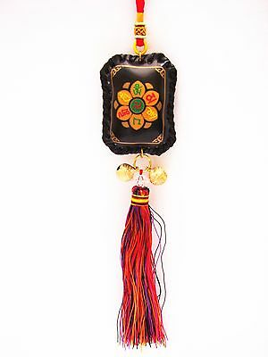 Tibet Buddhism Style Kalachakra car or handbag hanging Amulet for protection