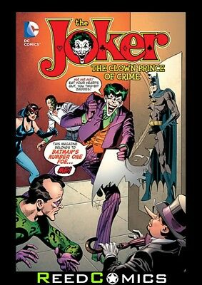 JOKER THE CLOWN PRINCE OF CRIME GRAPHIC NOVEL New Paperback Collects Joker #1-9