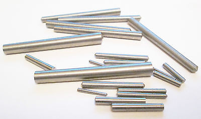 "Taper Pins 1/16"" 3/32"" 1/8"" (10pk) model engineering/live steam/clock making"
