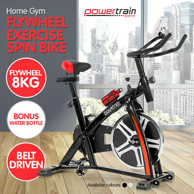New Heavy Flywheel Spin Exercise Bike Machine Semi Commercial Home Gym Fitness