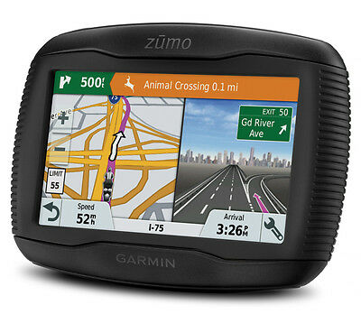Garmin Zumo 345Lm Gps Sat Nav - Lifetime Uk & Western Europe Maps