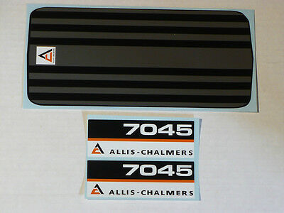 ALLIS-CHALMERS AC 7045 Pedal Tractor DECAL SET Ertl Toy FREE Ship Computer Cut
