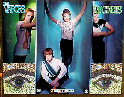 Vapors the 1981 poster MAGNETS mint condition