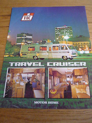 TEC TRAVEL CRUISER MOTORHOME brochure   jm