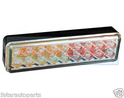 Led Autolamps 135Arme 12V/24V Rear Tail Clear Combination Slimline Light Lamp