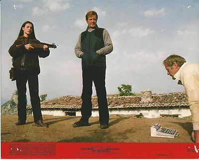ORIGINAL ROGER MOORE 007 JAMES BOND FOR YOUR EYES ONLY LOBBY CARD #16