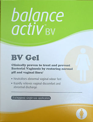 4 x Balance Activ BV Gel (7 Applications) for Bacterial Vaginosis