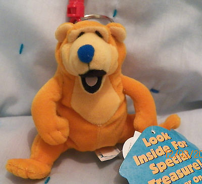BEAR plush backpack pal w/treasure from Bear in the Big Blue House! NEW !  L@@K!