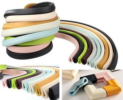 Baby Safety Protector Glass Table Desk Corners Edge Cushion Guard Bumper Strip U