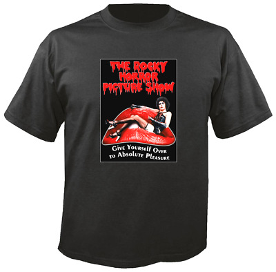 Tee Shirt New Unisex Cult Movie THE ROCKY HORROR PICTURE SHOW cotton t-shirt