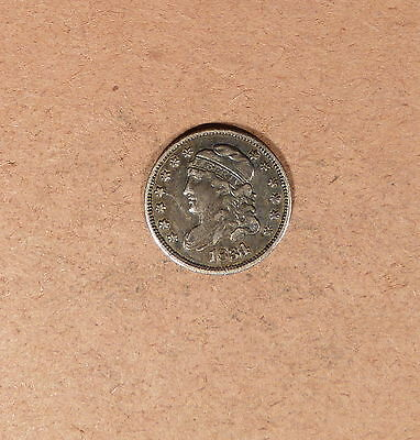 1834 Capped Bust Half Dime grades XF, Old Light Clean