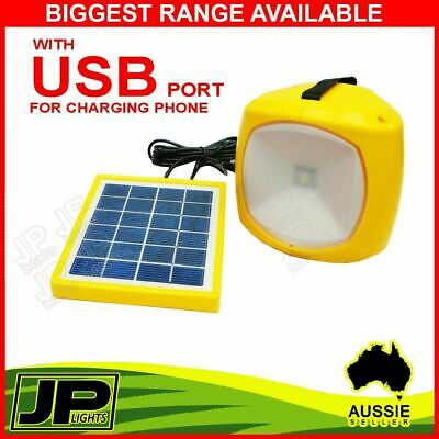 Portable Solar Camping Lantern Emergency Led Light With Mobile Phone Charger