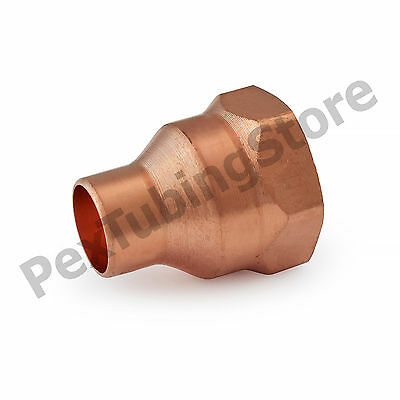 "1/2"" C x 3/4"" Female NPT Threaded Copper Adapter"