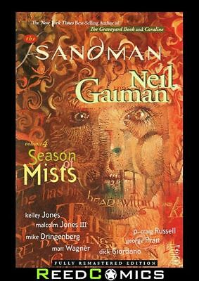 SANDMAN VOLUME 4 SEASON OF MISTS GRAPHIC NOVEL New Paperback Collects #21-28