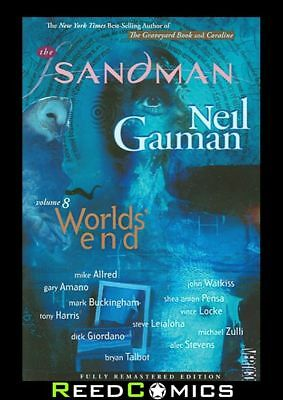 SANDMAN VOLUME 8 WORLDS END GRAPHIC NOVEL New Paperback Collects #51-56