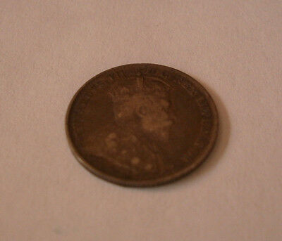 Canada 1902 Canadian five cent nickel coin