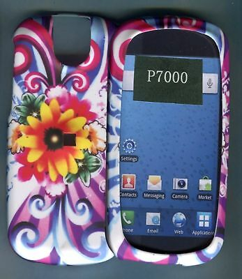 Yellow Flower Hard Cover Case for Pantech Impact P7000 AT&T
