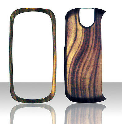 Wood Design Pantech Impact P7000 AT&T Case Cover Hard Phone Snap on Cases