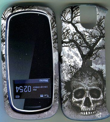 Pantech Impact P7000 at&t  Case Cover Hard Snap on Covers Tree Skull