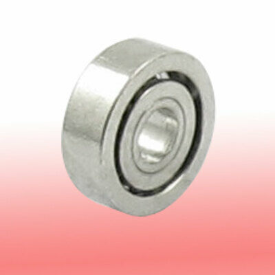 1mm x 3mm x 1mm Metal Sealed Deep Groove Radial Ball Bearing Silver Tone