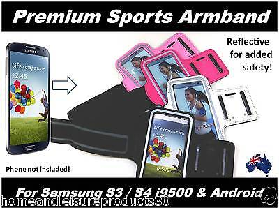 Premium Reflective Armband for Samsung S3/S4 i9500 & Android