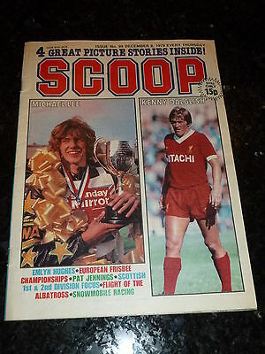 SCOOP Comic - No 99 - Date 08/12/1979 - UK Paper Comic - Inc Pull-Out
