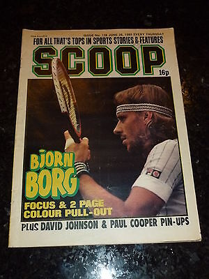 SCOOP Comic - No 128 - Date 28/06/1980 - UK Paper Comic - Inc Pull-Out