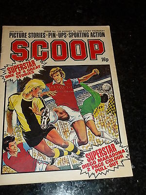 SCOOP Comic - No 135 - Date 16/08/1980 - UK Paper Comic - Inc Pull-Out