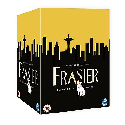 FRASIER Complete Series 1-11 SEALED/NEW boxset Seasons 1 2 3 4 5 6 7 8 9 10 11