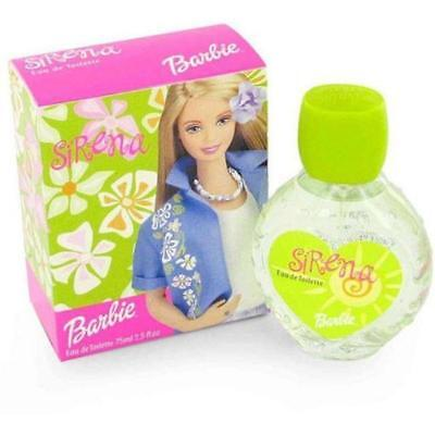 Barbie Sirena for Girls by Mattel EDT Spray 2.5 oz ~ BRAND NEW IN BOX