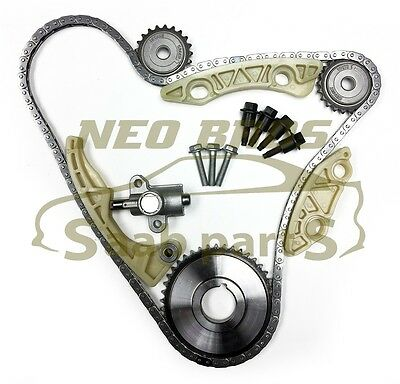 ENGINE BALANCE CHAIN, Tensioner, Gear & Guide Kit for Saab 9-3 1 8T 2 0T  B207