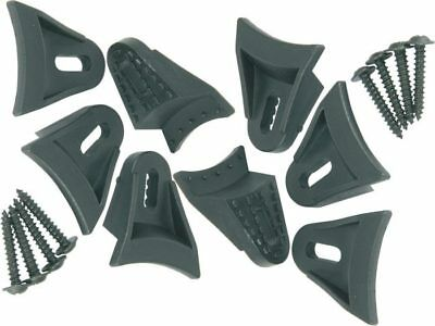 New Speaker Grill Clamps Fixings Set of 8 with Screws