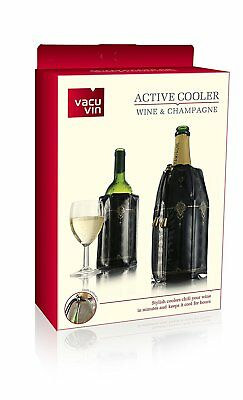 Vacu Vin Rapid Ice Wine and Champagne Cooler Set - Classic