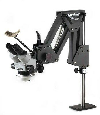 Meiji EMZ-8U Microscope Kits Complete with GRS Tools 003-630 Acrobat Stand.