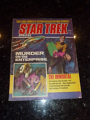 STAR TREK SPECIAL Comic - Date 1977 - IPC Comics