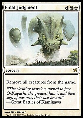 Giudizio Finale - Final Judgment MTG MAGIC BoK Betrayers of Kamigawa Eng