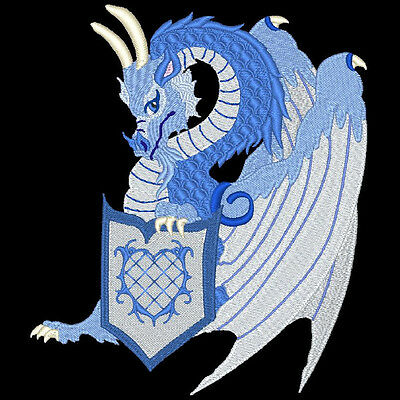 Dragons Reign - 30 Machine Embroidery Designs (Azeb)