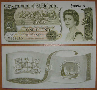St.Helena Banknote One Pound 1981 UNC