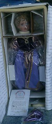"BEAUTIFUL 21"" FAIRY TALE RAPUNZEL DOLL by LAURA COBABE 235/1000 MINT in BOX!"
