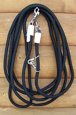 Draw Reins - Corded (Black)