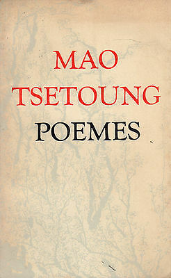 Poems- MAO TSE TUNG, 1978, in francese, stampato in Cina - ST143