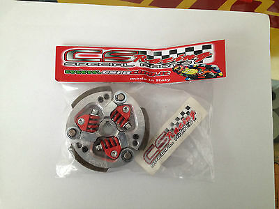 *** CS RACING FRIZIONE 3 MASSE GT MINIMOTO complete 3 shoes clutch